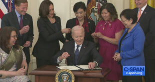 Biden Signs Covid-19 Hate Crimes Act