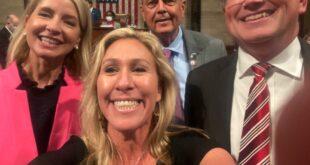 GOP Member defying mask mandate