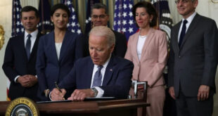 Pres. Biden signs executive order on competition