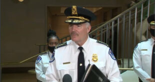 Capitol Police Chief Tom Manger
